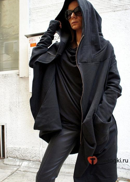 Женское пальто - балахон