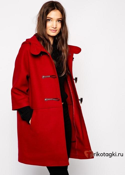 Женское пальто - дафлкот