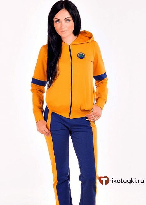 Спортивный костюм оранжевый
