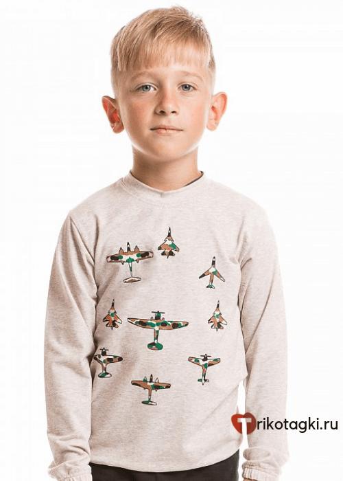 Джемпер светлый для мальчика