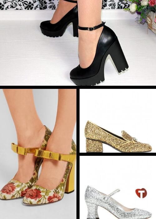 Новогодние туфли 2019