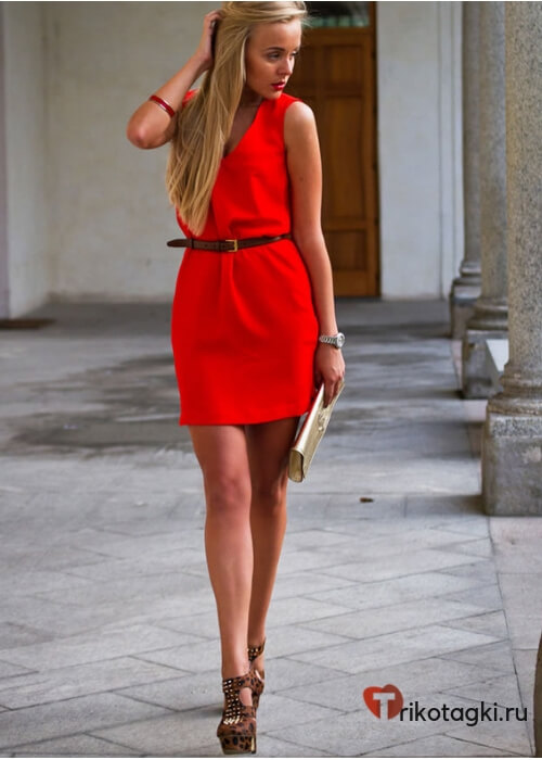 Новогоднее платье для скорпионов