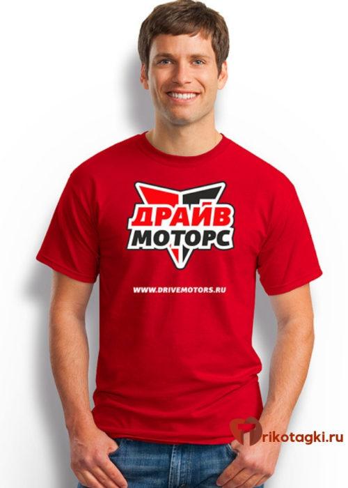 Корпоративная футболка мужская