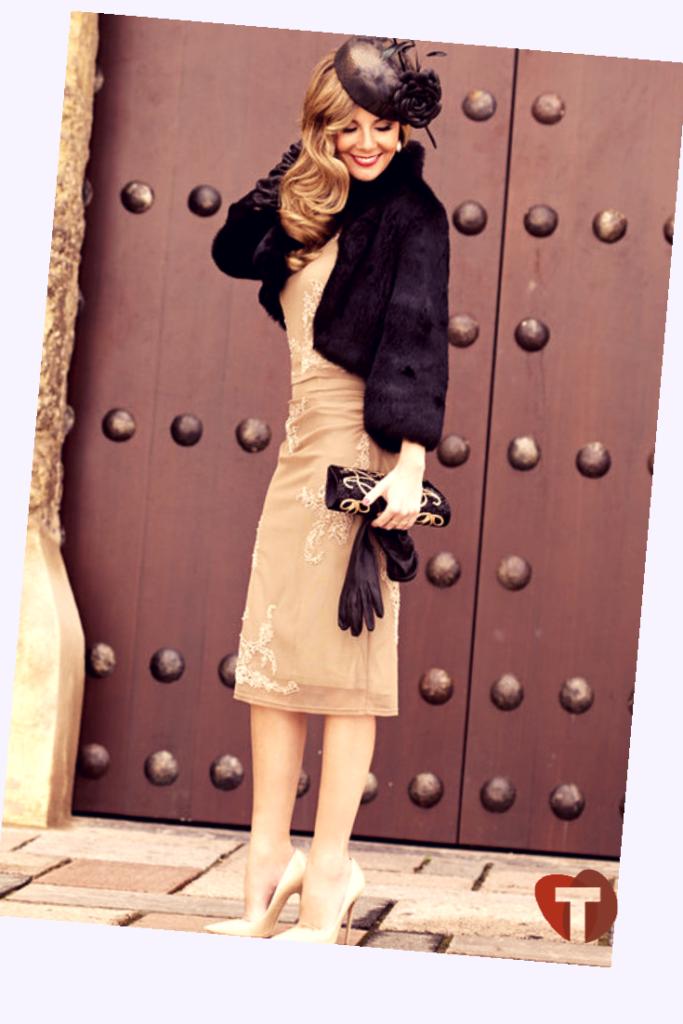 Девушка в винтажном образе