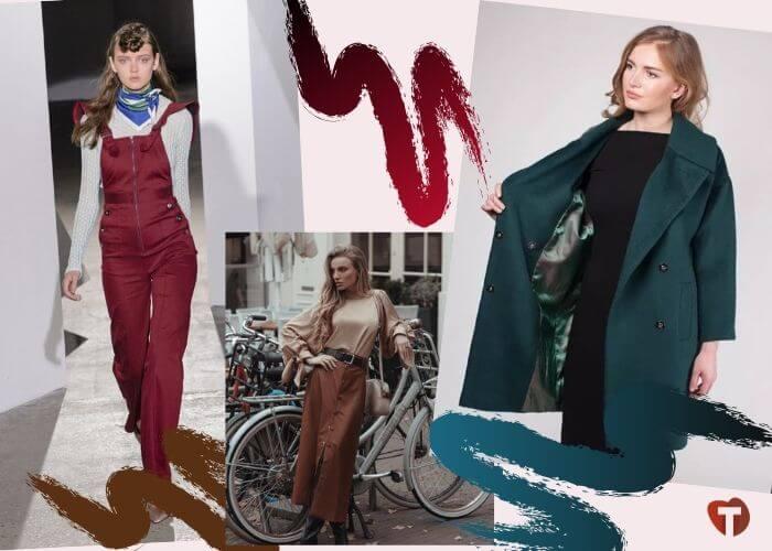 Модные цвета в одежде в 2020