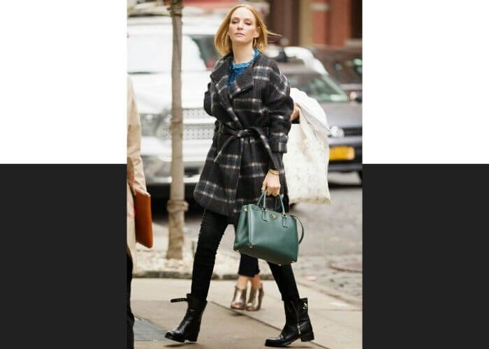 Ума Турман и сумка Galleria от Prada