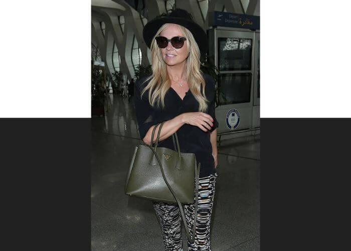 Эмма Бантон и сумка Galleria от Prada