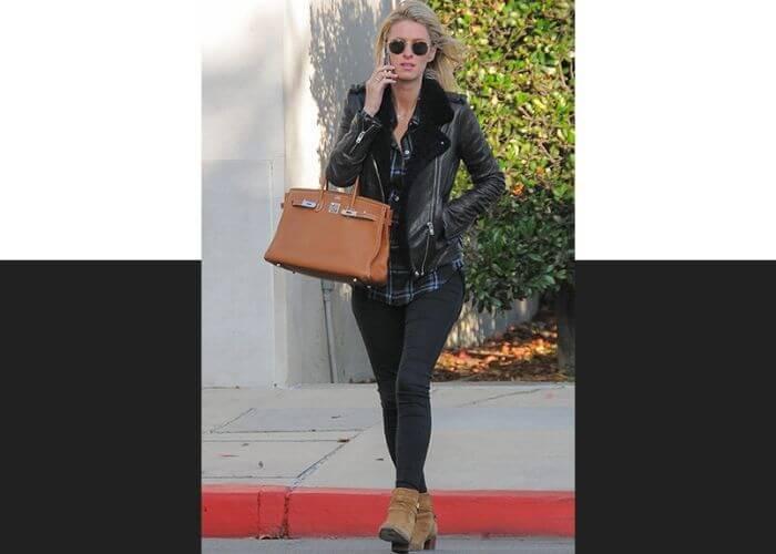 Ники Хилтон и сумка Birkin от Hermès