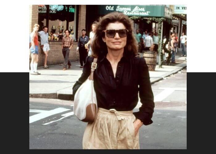 Жаклин Кеннеди и сумка Jackie от Gucci