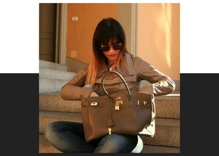 Джейн Биркин и сумка Birkin от Hermès