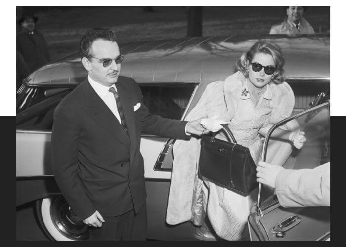 Грейс Келли и сумка Kelly от Hermès