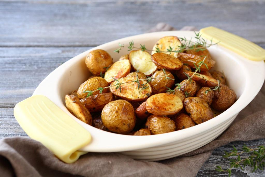 Картофель с золотистой корочкой
